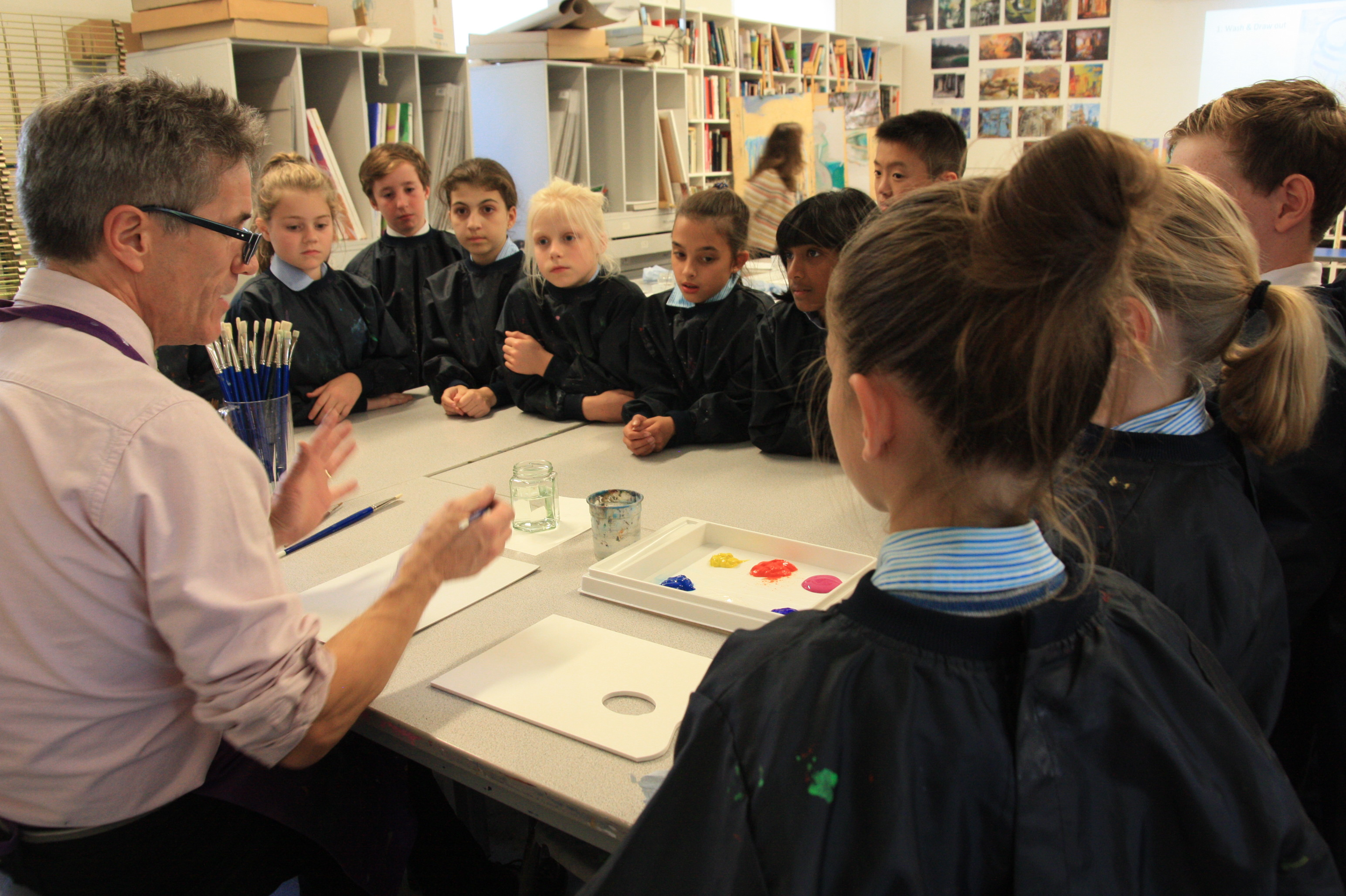 Year 6 Art Workshop at Cranleigh