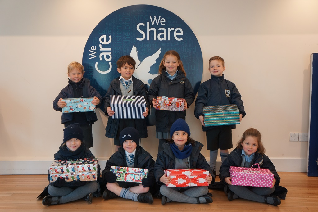 Shoeboxes for Christmas