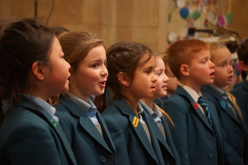 Middle and Upper School Carol Services