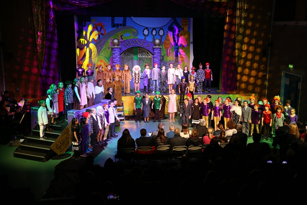 Charlie and The Chocolate Factory Production