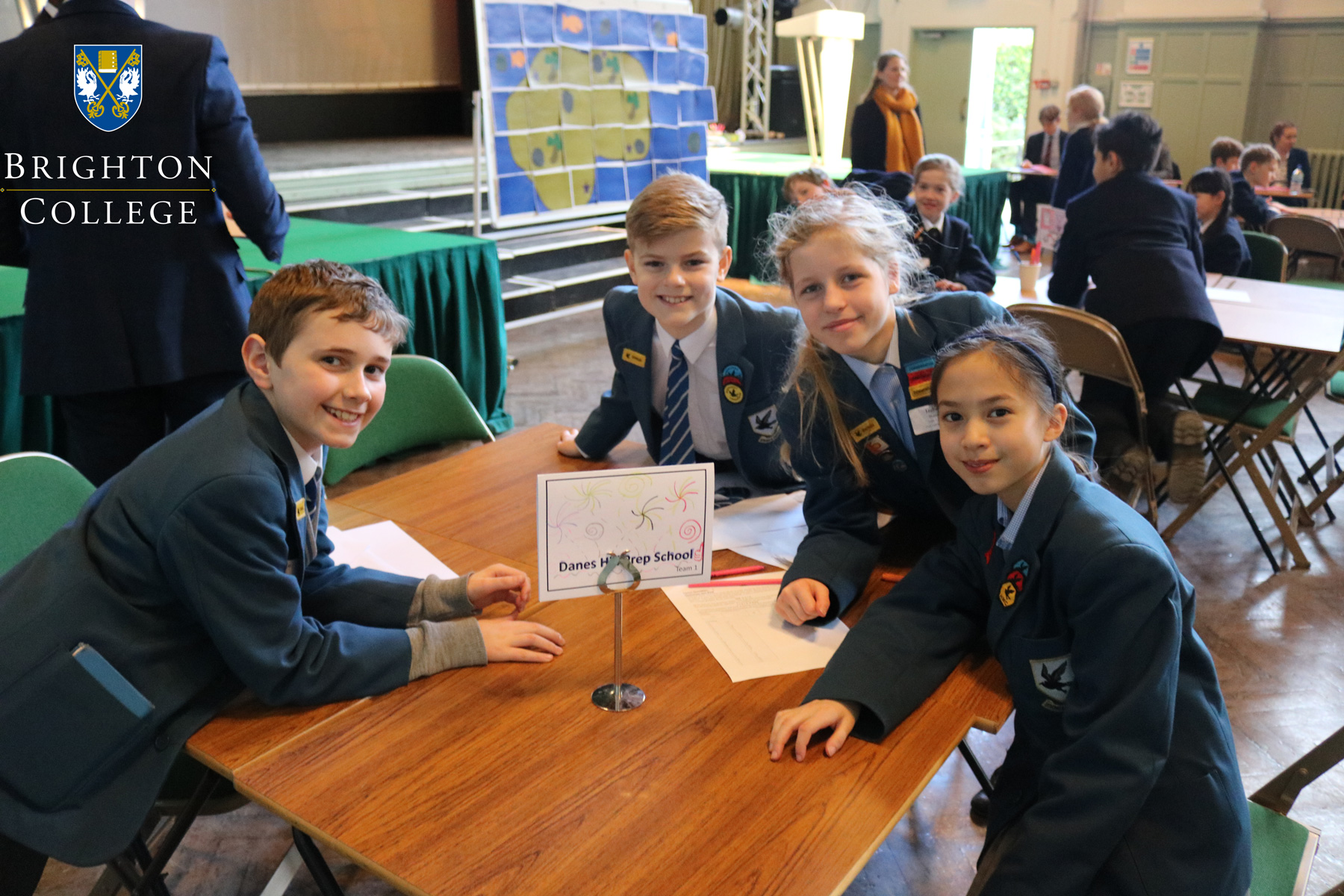 "Second Place in the Prep Schools"" Maths Challenge"