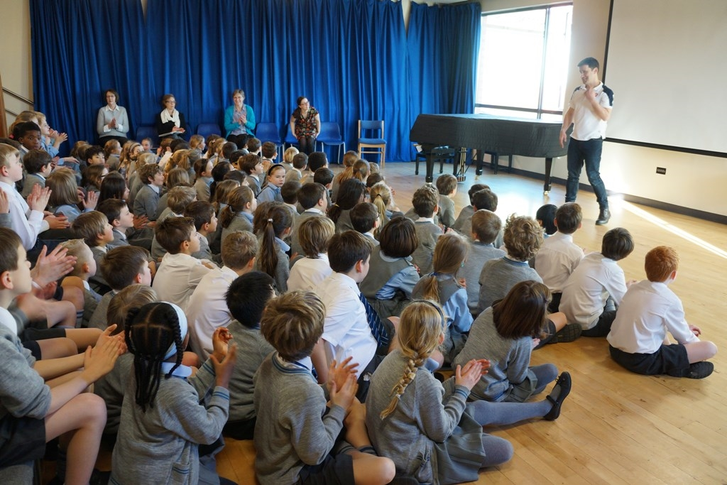 Children's Author Visits Danes Hill