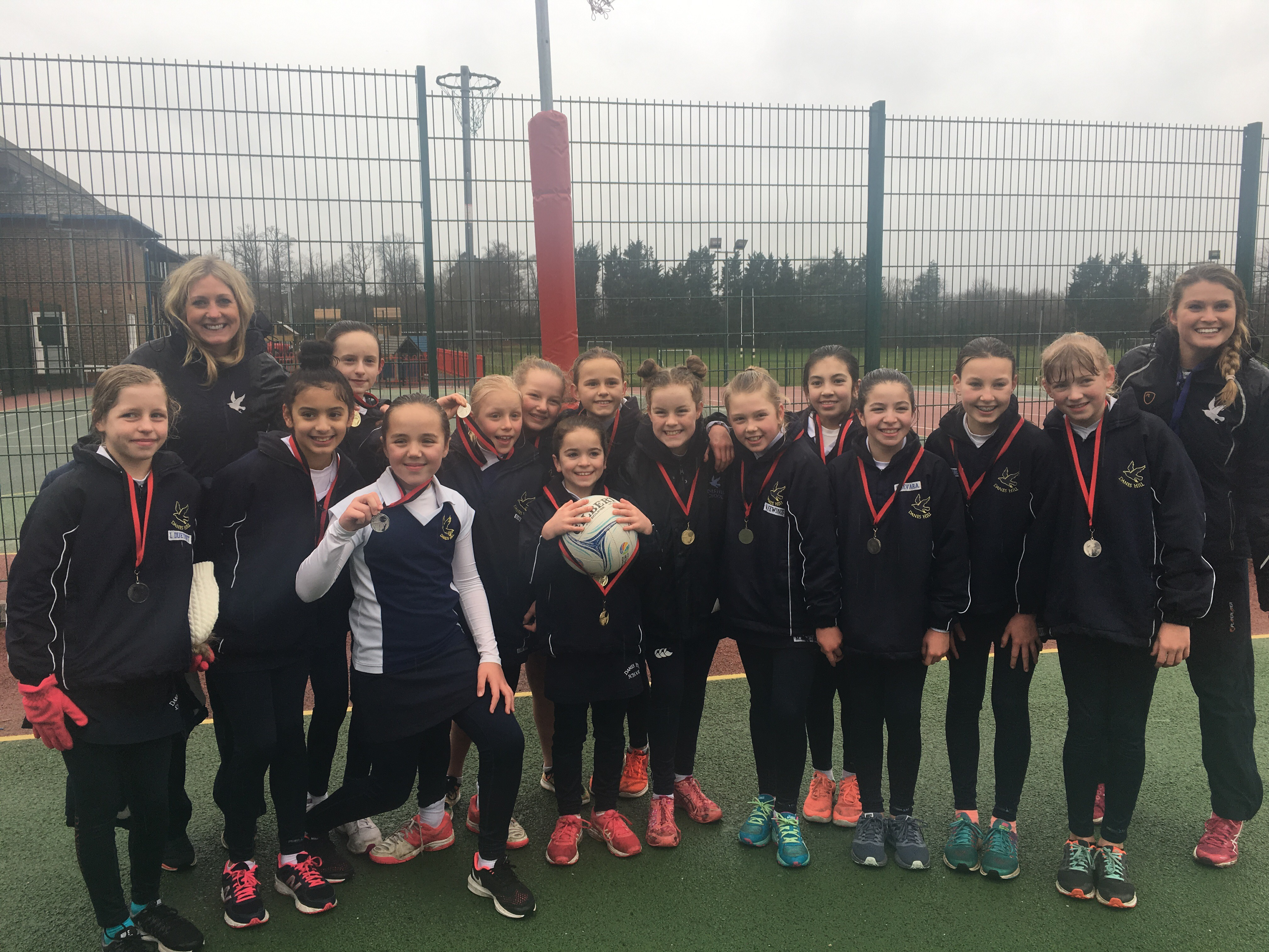 Downsend Netball Tournament Success