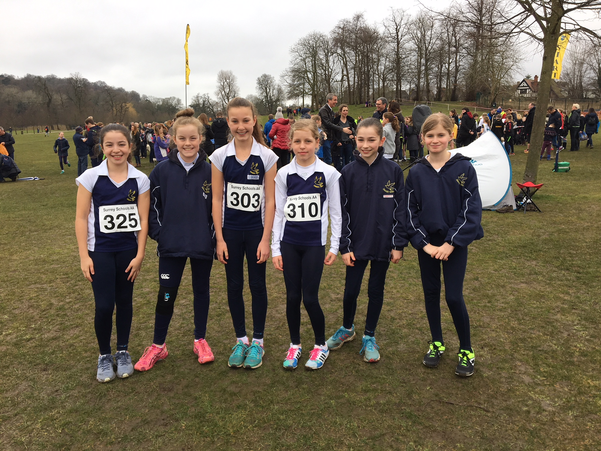 Surrey Schools Cross Country Event