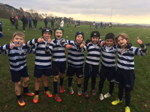 U9 B Squad Undefeated Rugby Season!