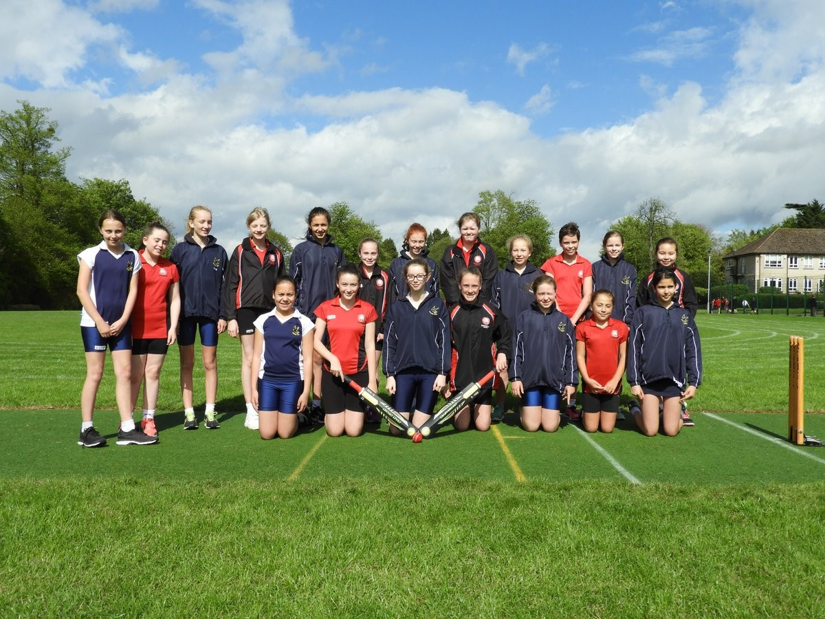 First Senior Girls' Cricket Fixture