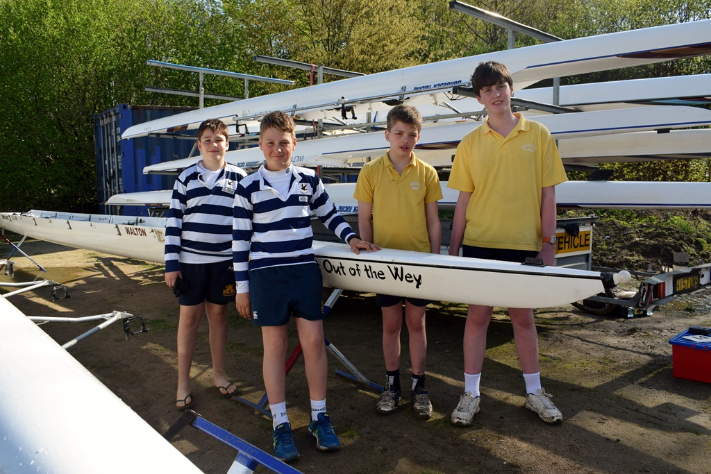 Danes Hill Rowers go International!