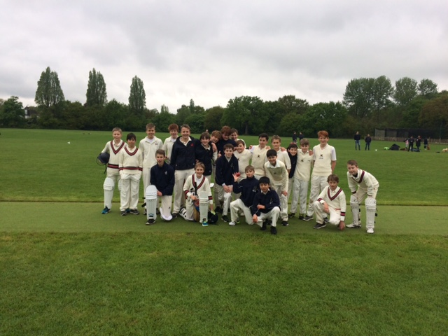 Third Team Cricketers Brave the Rain in a Thrilling Match!